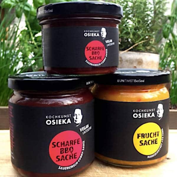 Kochkunst Osieka: Scharfe BBQ Sache und Fruchtsache